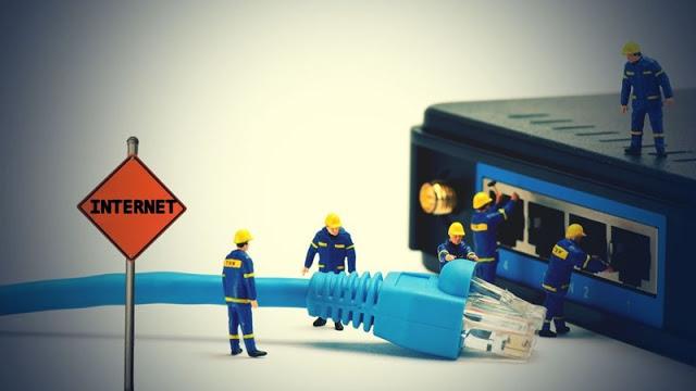 بعض مشاكل تقطعات الانترنت في الراوتر