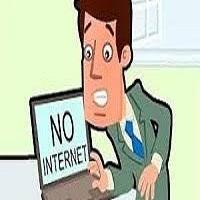 مشاكل تقطعات الانترنت في الشبكات
