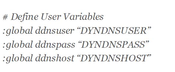 ضبط اعدادات DDNS في المايكروتك