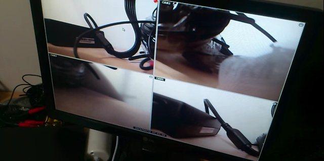 طريقة تركيب كاميرات المراقبة