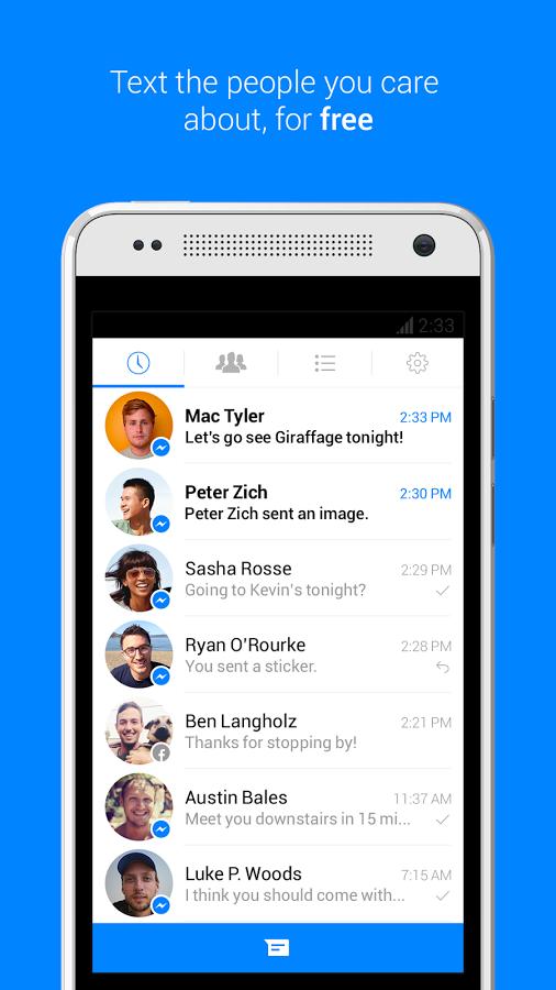 تطبيق Messenger