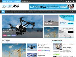 قالب supermag لمدونة ووردبريس