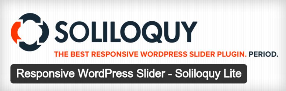 اضافات ووردبريس : Soliloquy