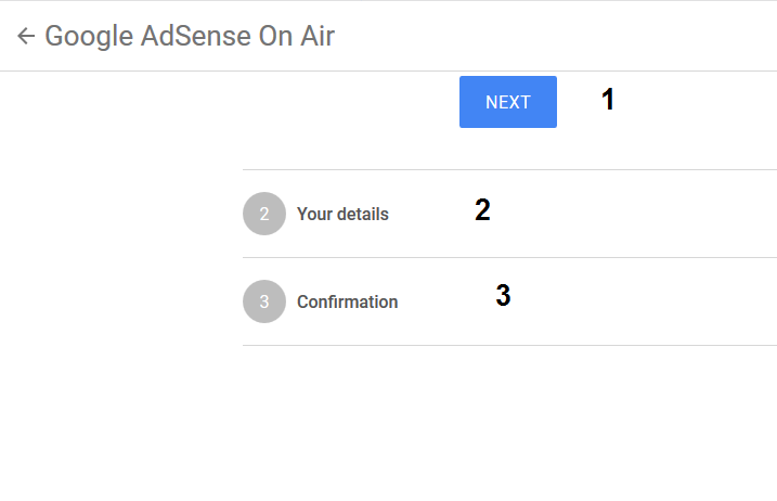 Google AdSense on Air