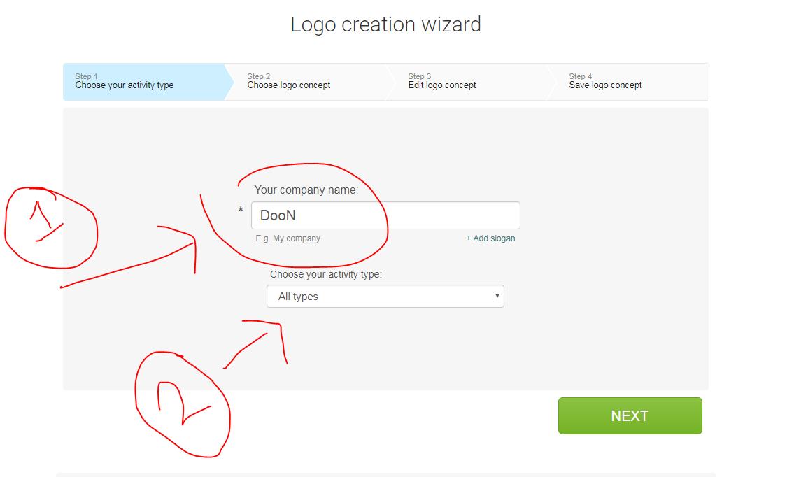 أفضل موقع لتصميم الشعارات