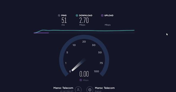 معرفة كيفية قياس سرعة الإنترنت للهاتف والكمبيوتر