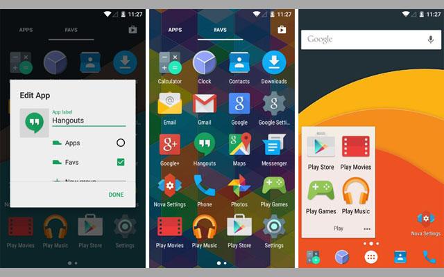 اجعل هاتفك الأندرويد أنيقاََ باستخدام تطبيقات اللانشر