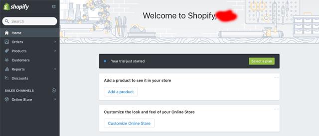 اضافة منتج في متجر Shopify