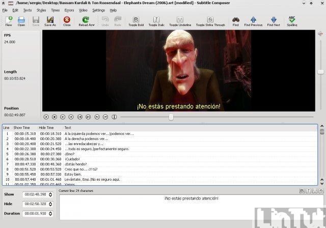 Subtitle Composer