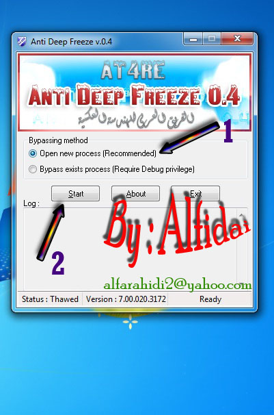 anti deep freeze startimes