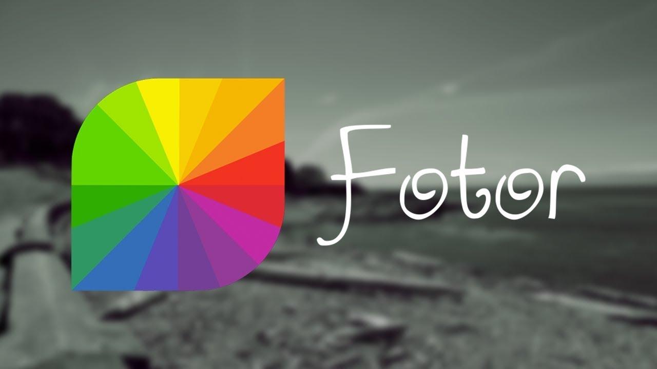 برنامج تحرير الصور Fotor
