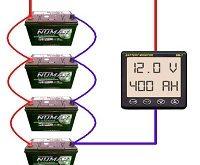 طريقة ربط مصفوفة بطاريات الطاقة الشمسية