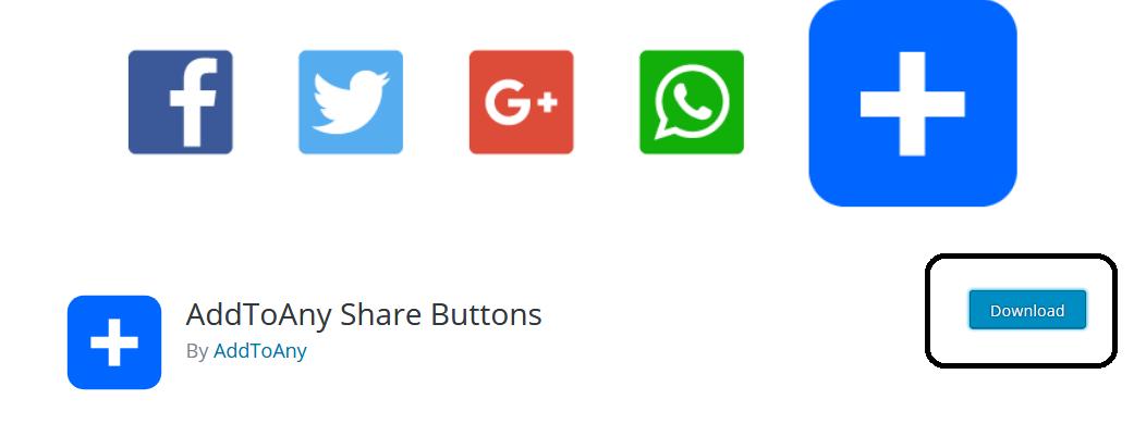 شرح اضافة AddToAny Share لمشاركة المقالات على مواقع التواصل الاجتماعي