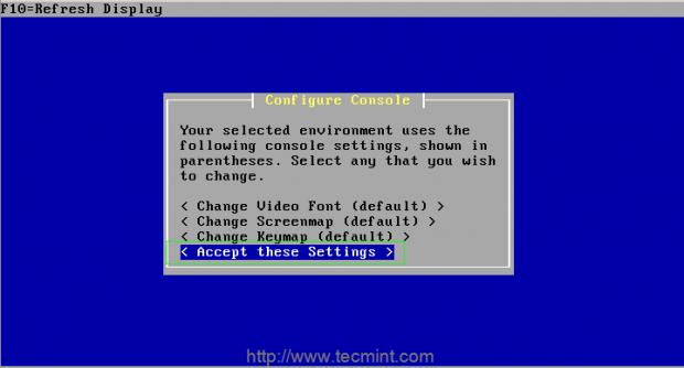Configure-Console
