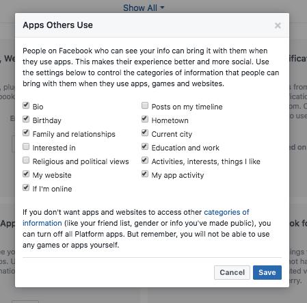 فيسبوك حماية حسابك