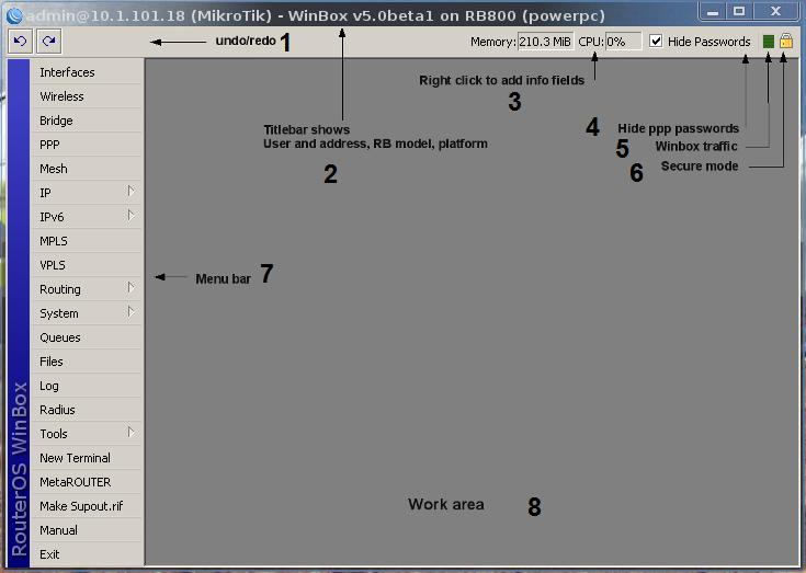 Winbox-workarea