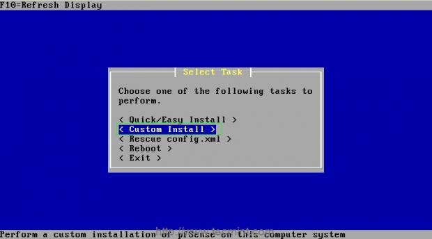 pfSense-Custom-Install