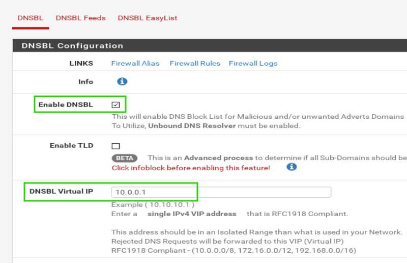 Enable-DNSBL-for-pfSense
