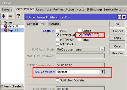 حل مشكلة التشفير HTTPS في سيرفر الميكروتك