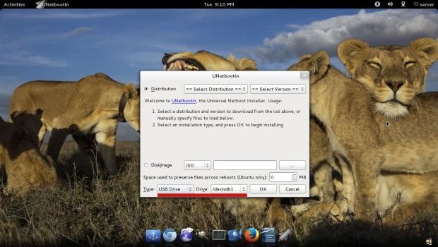 تثبيت Linux من جهاز USB