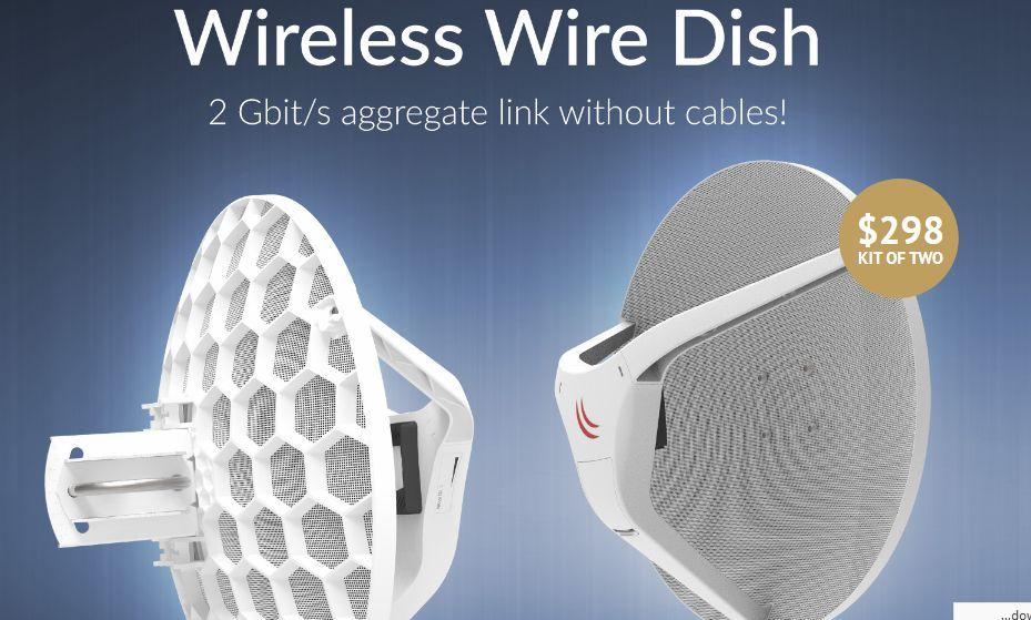 نقل الانترنت Wireless Wire Dish