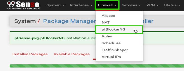 pfBlockerNG-Configuration