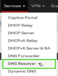pfSense-DNS-Resolver