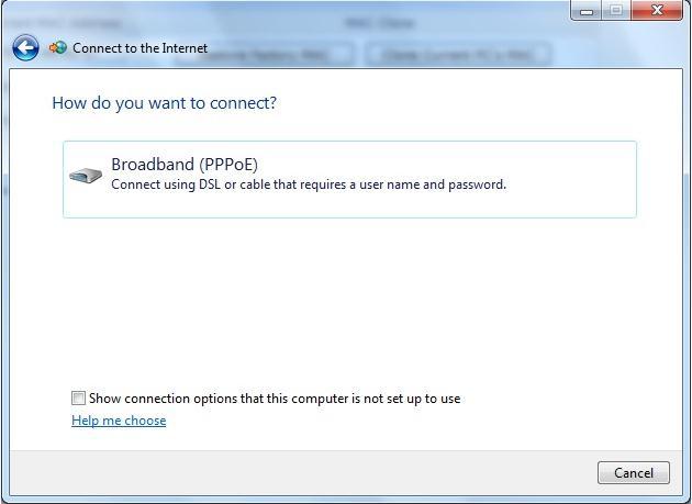 Broadband (PPPoE)