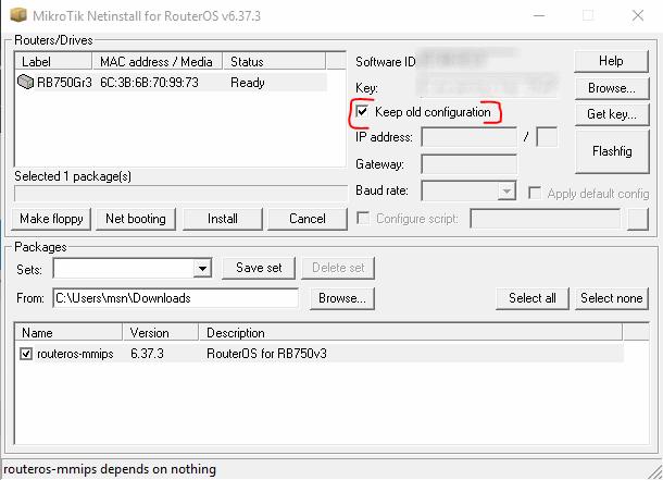netinstall-keep-config