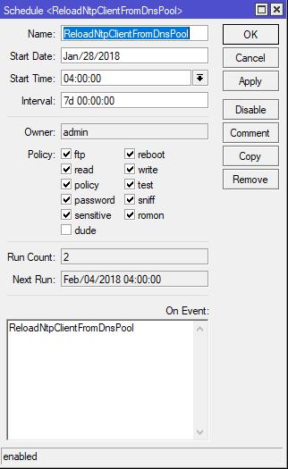 ntp-schedule