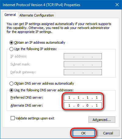 type-DNS-server-addresses-IPv4-manually-Win10