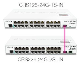 الاتصال بين منفذ SFP و Mikrotik RouterBoard في سيرفر الميكروتك