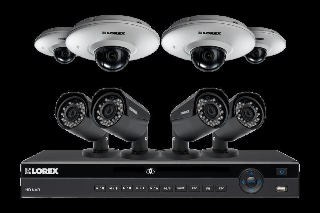 ما الذي تحتاجة لتركيب انظمة المراقبة والحماية