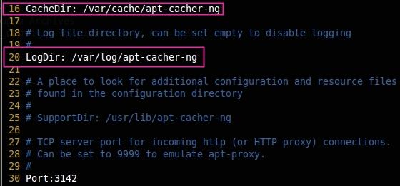 Configure Apt Cacher