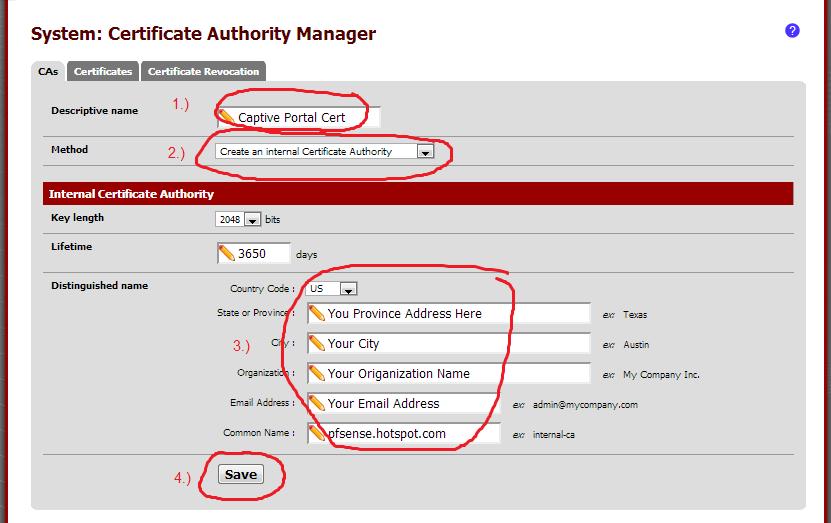 تأمين صفحة تسجيل دخول PFsense إلى بوابة Captive Portal وحمايتها من الاختراقات
