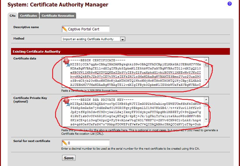 حماية صفحة دخول pfsense
