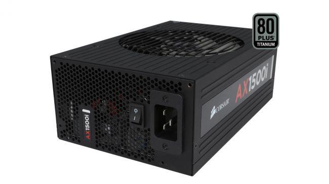power supply: Corsair AX1500i