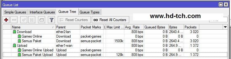 كيفية اعداد MikroTik لألعاب الإنترنت