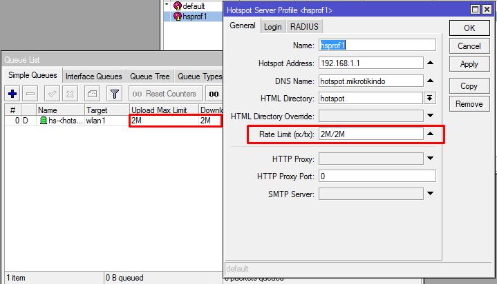 تقييد مستخدمي Hotspot User في الميكروتك للحد من استخدام باندوث وسرعات الشبكة