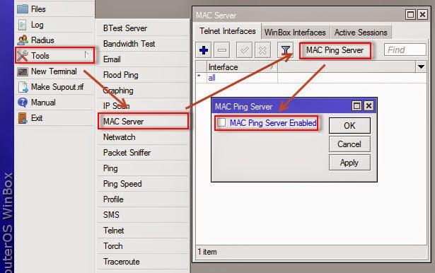 MAC-ping-Server-Mikrotik