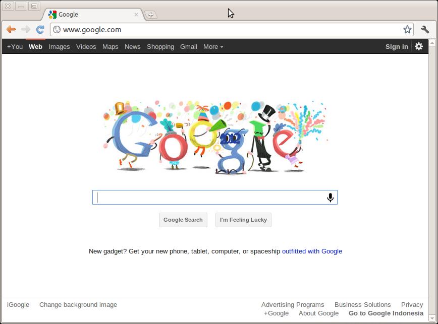 تثبيت جوجل كروم على أوبونتو 11.10 Oneiric Ocelot بطريقة سهلة وسريعة