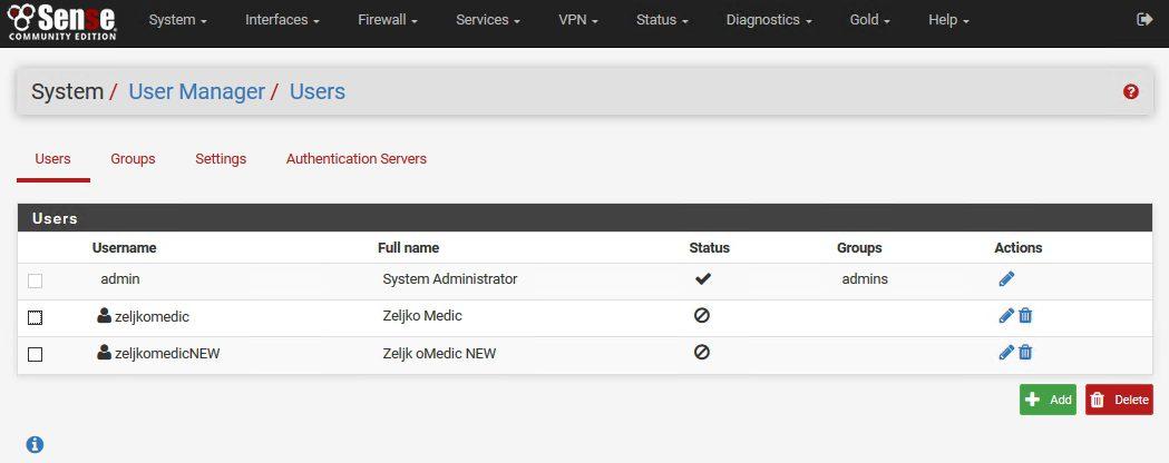 كيفية إبطال شهادة المستخدم على pFSense (OpenVPN) للموظفين او العملاء السابقين للشركة