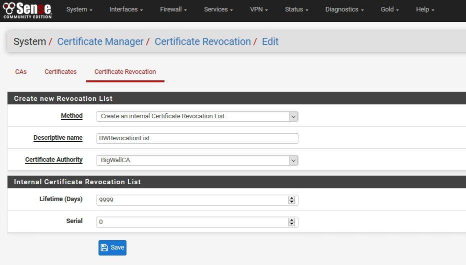 pFSense_Certificate_Revocation
