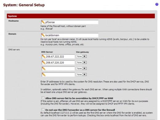 تحسين أداء الإنترنت في الشبكة مع خدمة DNS Forwarder في pfSense