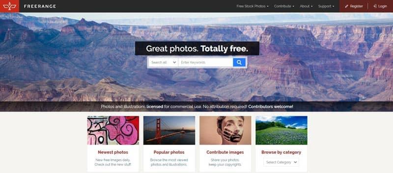 أفضل5مواقع للتحميل الصور بدون حقوق