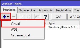 add Virtual interface