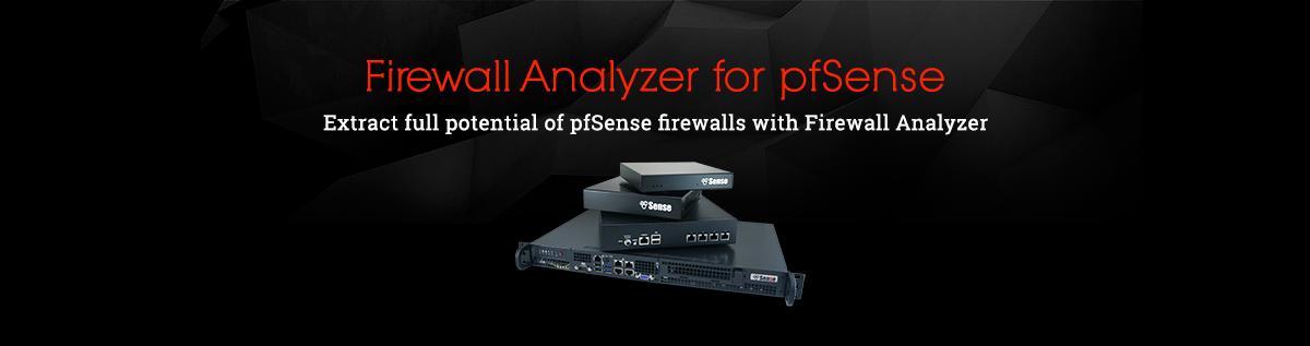 Firewall Analyzer for pfSense الحصول على تحليل واحصائيات لجدار حماية pfSense
