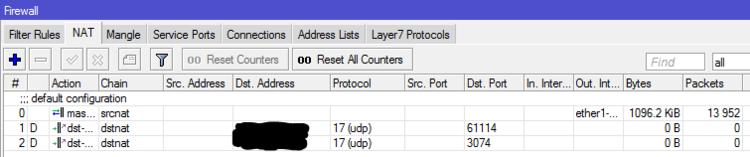 XBox و Playstation UPnP حل بعض المشكلات لمن يلعبهما على شبكات الميكروتك