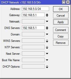 DHCP Networks