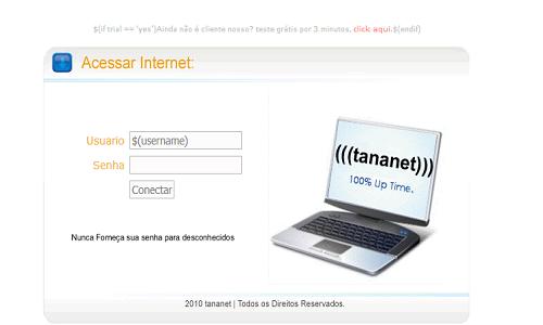 مجموعة صفحات هوتسبوت ميكروتك صفحة هوتسبوت Acessar Internet